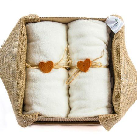 Dve jastučnice od bambus vlakna 40x40cm - Bamboooz